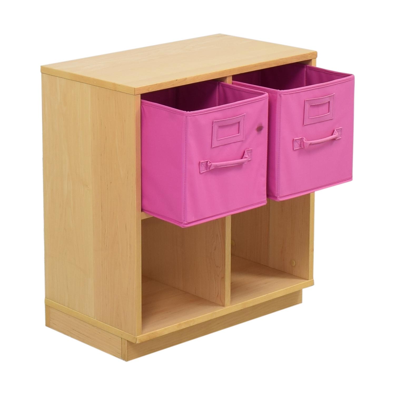 Williams Sonoma Williams Sonoma Cube Storage Units with Storage Bins for sale