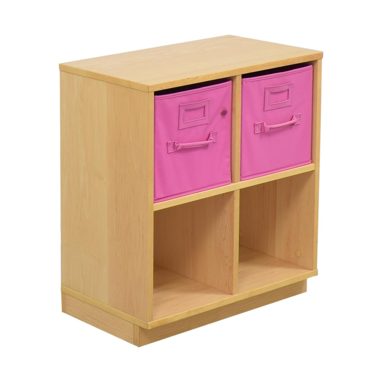 Williams Sonoma Williams Sonoma Cube Storage Units with Storage Bins ct