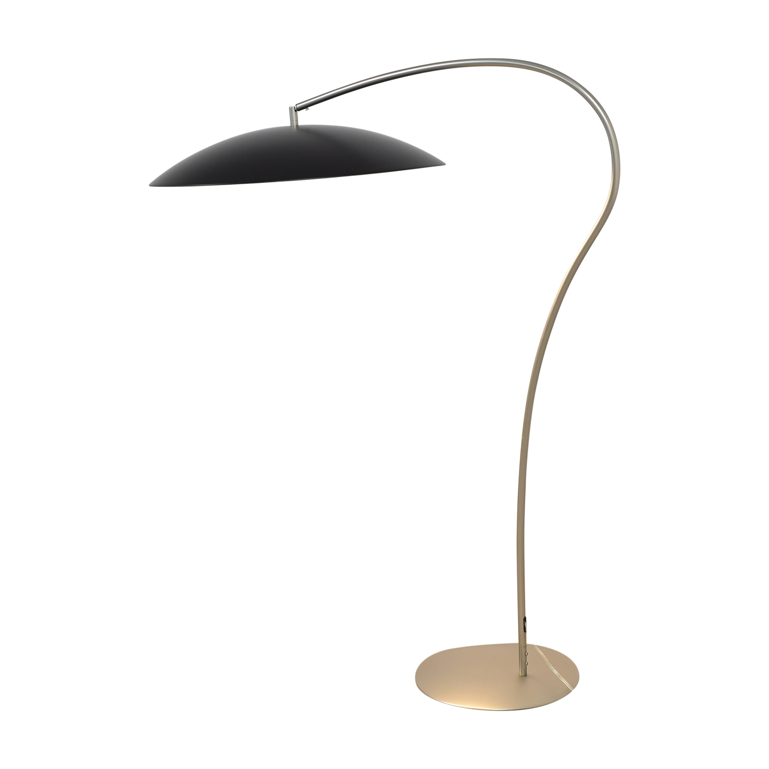CB2 Atomic Arc Floor Lamp sale