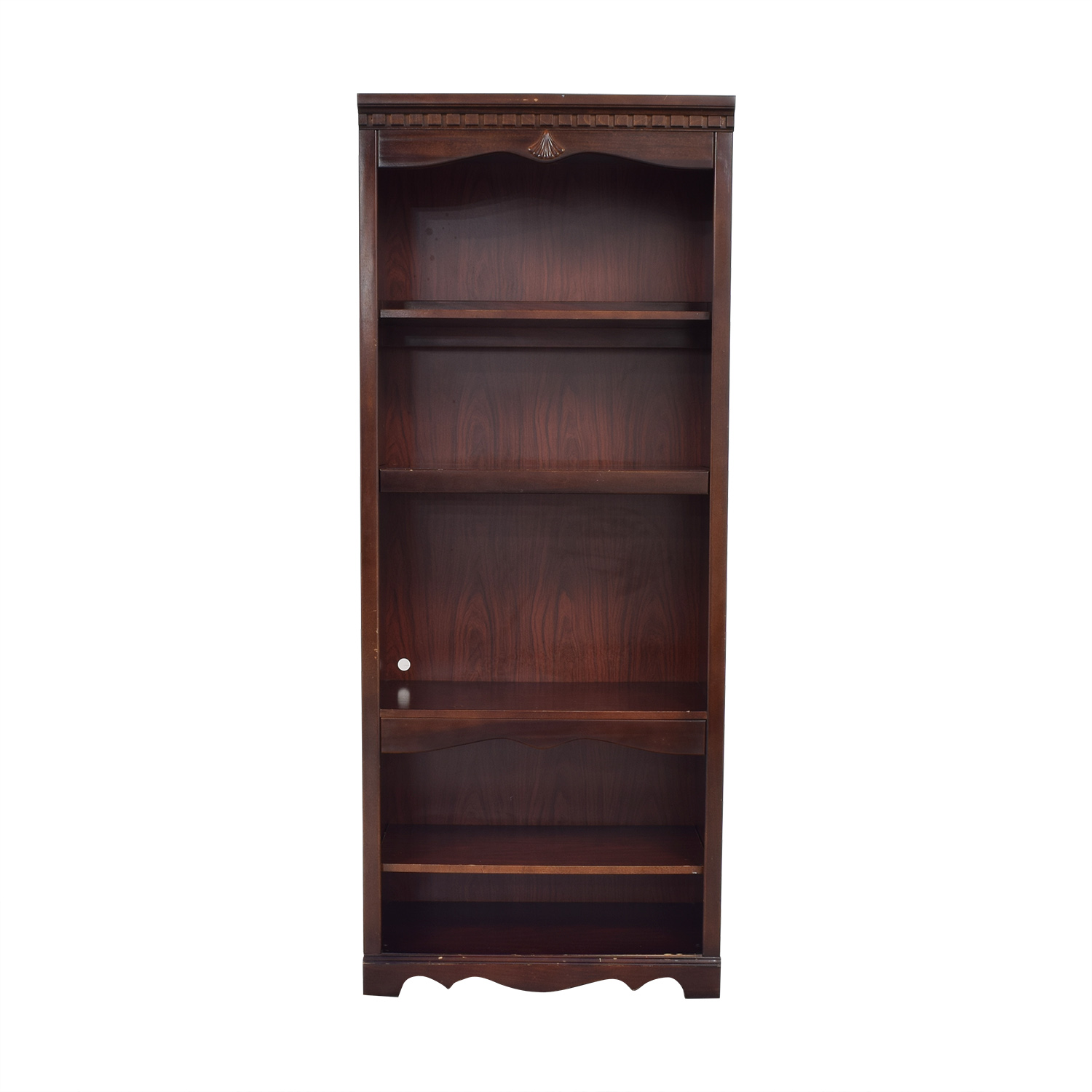 buy Traditional Cabinet Bookcase  Bookcases & Shelving