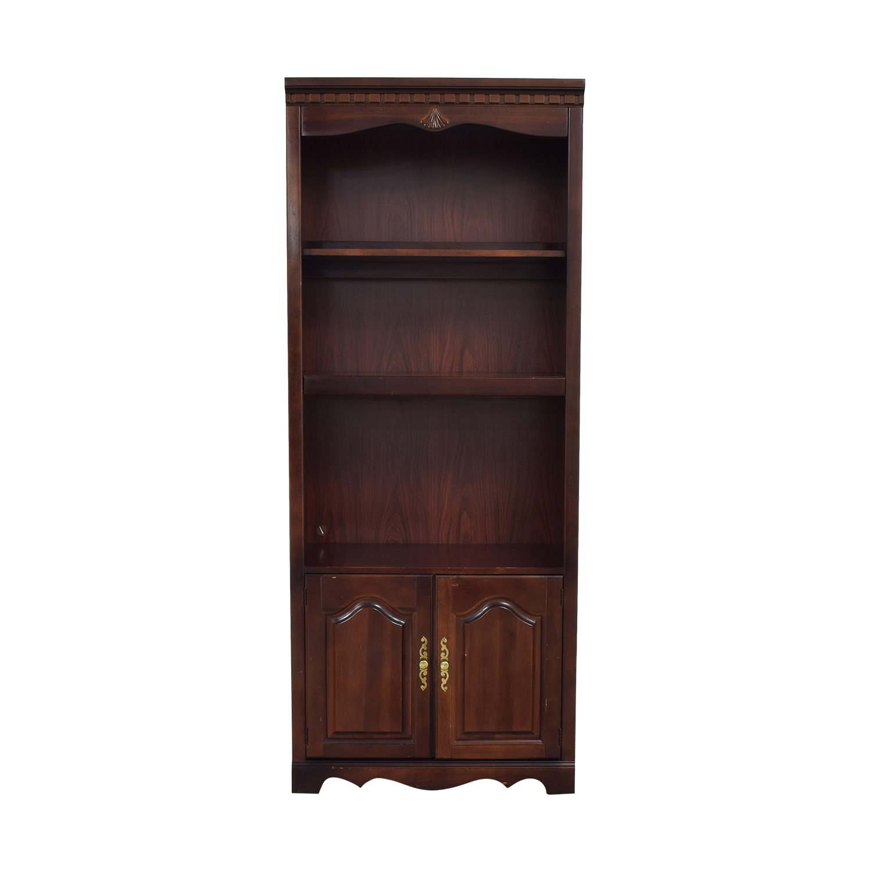 Bassett Furniture Bookshelf with Cabinet Bassett Furniture