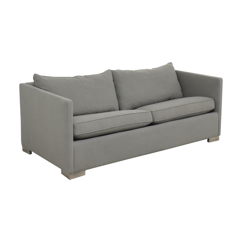 81 OFF   CB2 CB2 Dose Pebble Queen Sleeper Sofa / Sofas