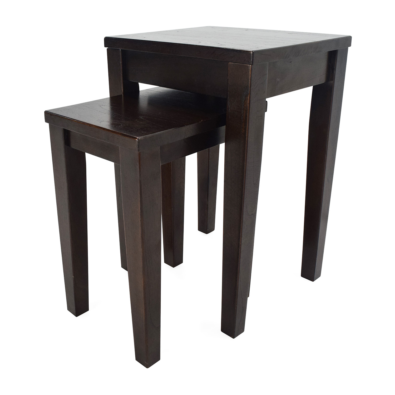 shop Crate & Barrel Nesting Tables Crate and Barrel End Tables