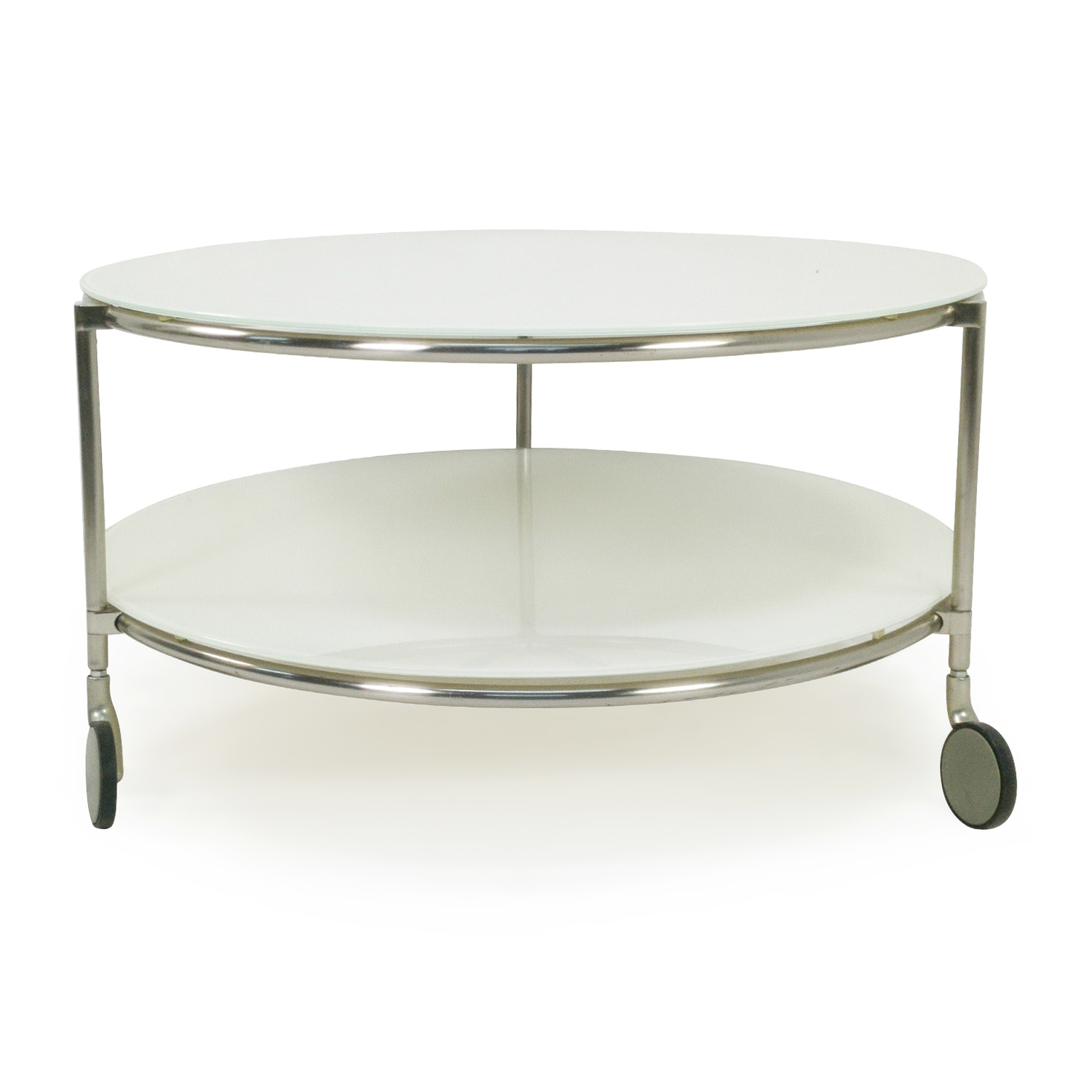 Glass Coffee Table With Wheels Home Design