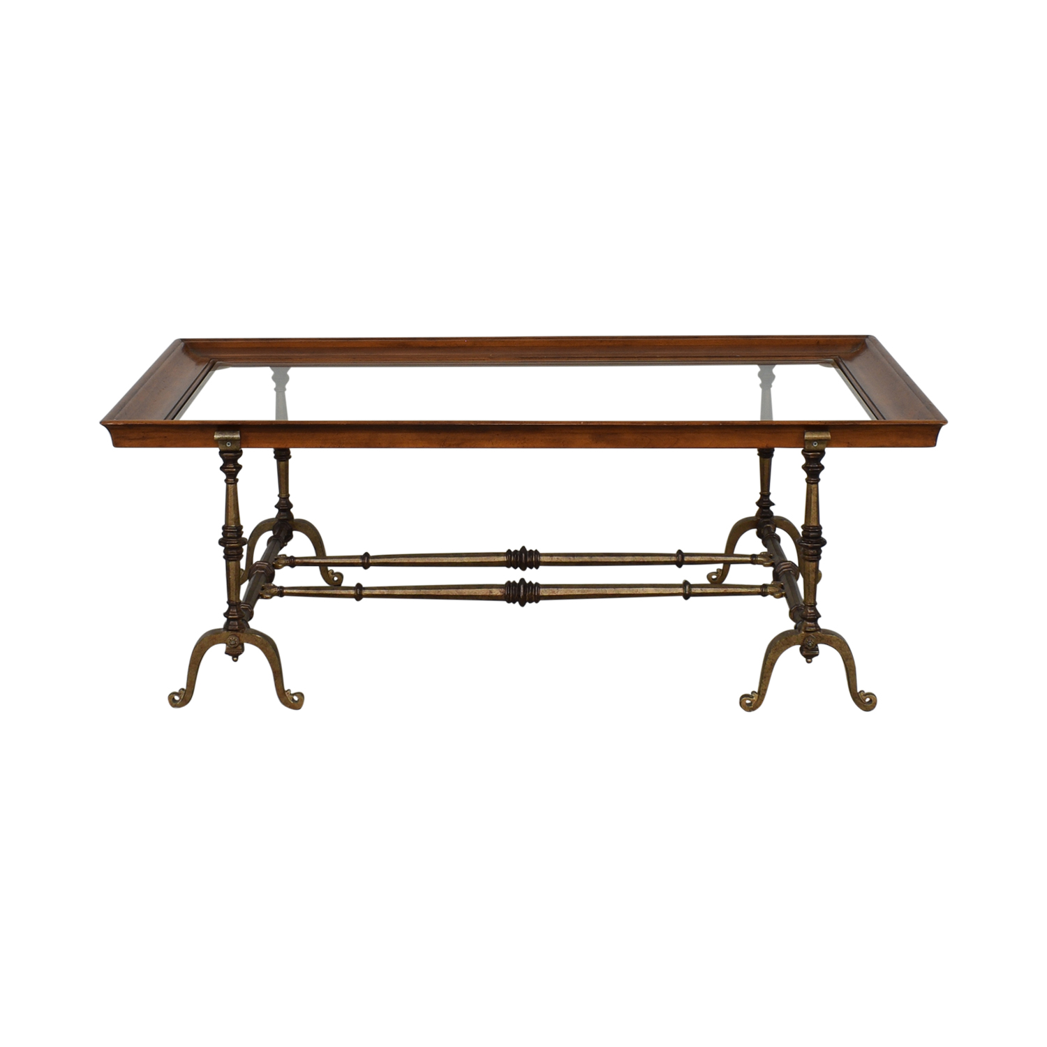 HomeGoods HomeGoods Mixed Elements Coffee Table Coffee Tables