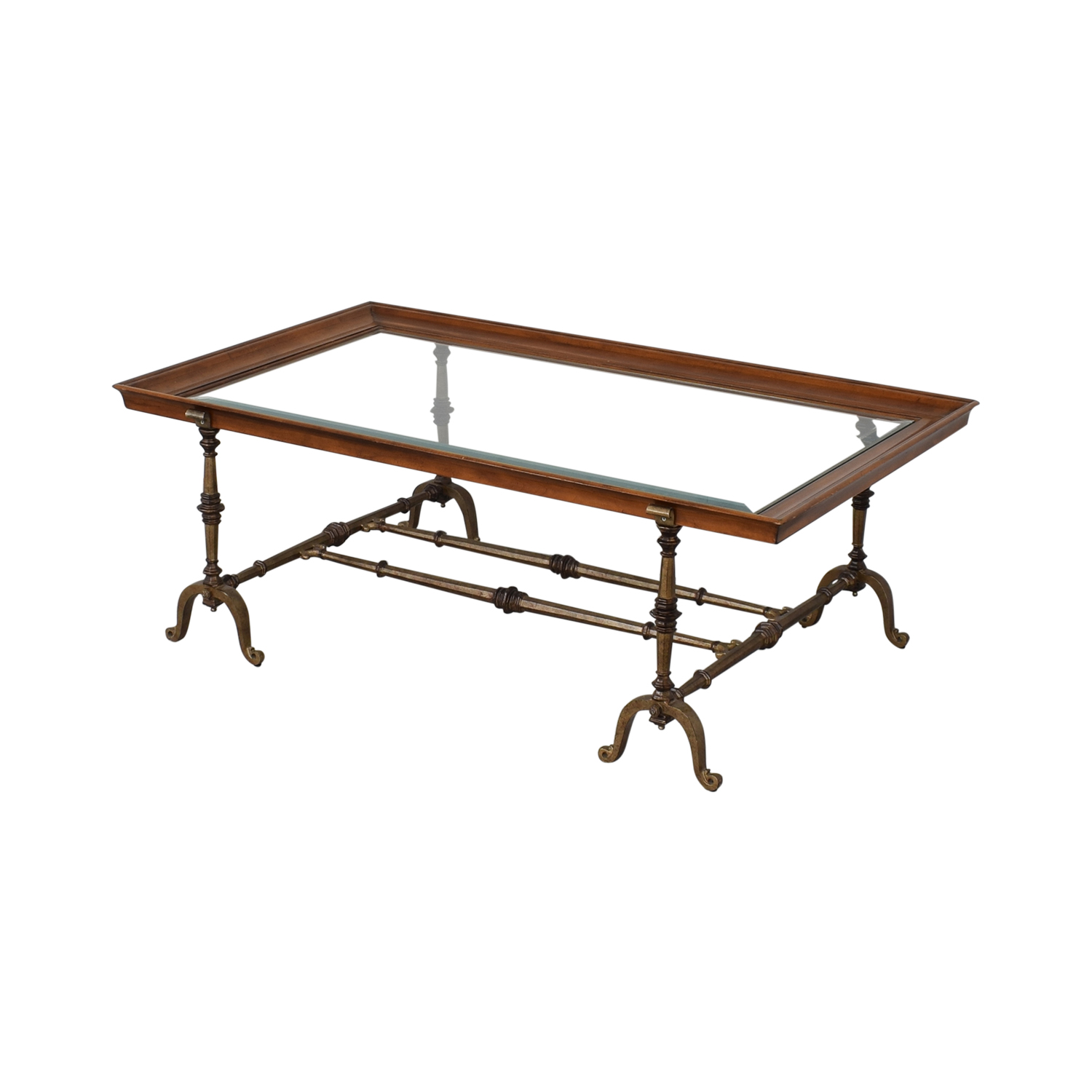 HomeGoods HomeGoods Mixed Elements Coffee Table ct