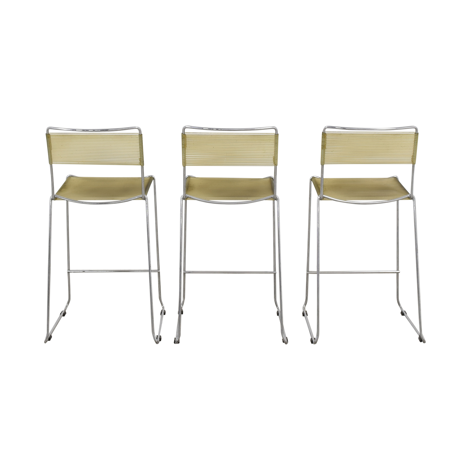 buy Chrome Frame Bar Stools