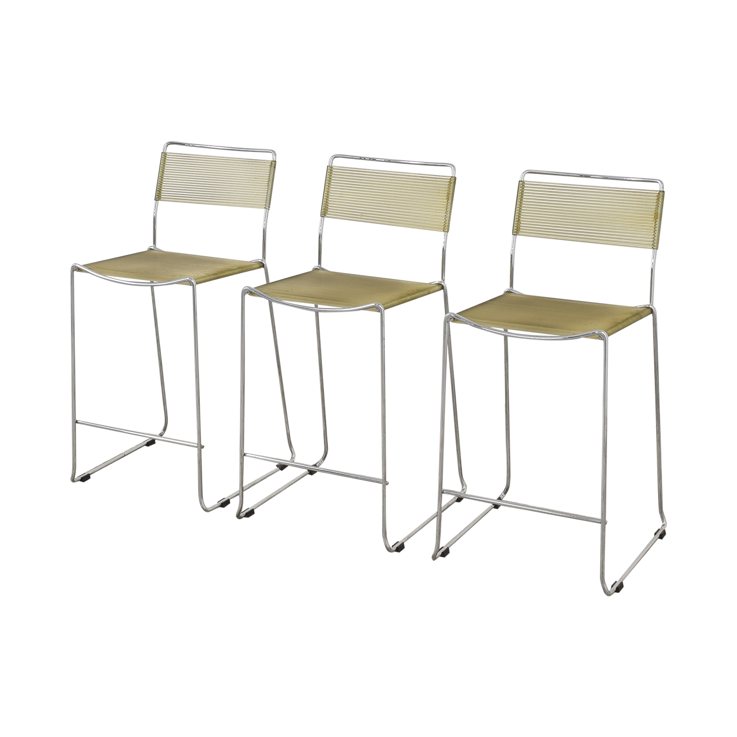 Chrome Frame Bar Stools nyc