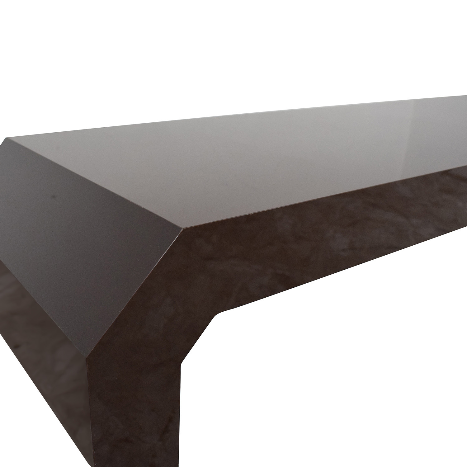 Lacquer Angle Accent Table dimensions