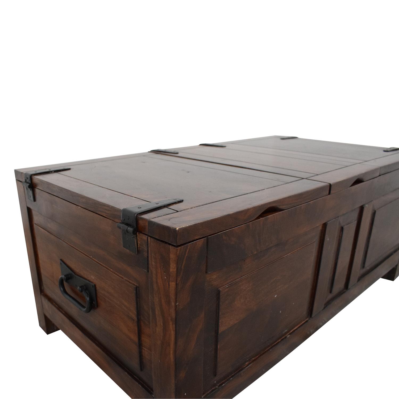 Crate & Barrel Crate & Barrel Hunter Trunk dimensions
