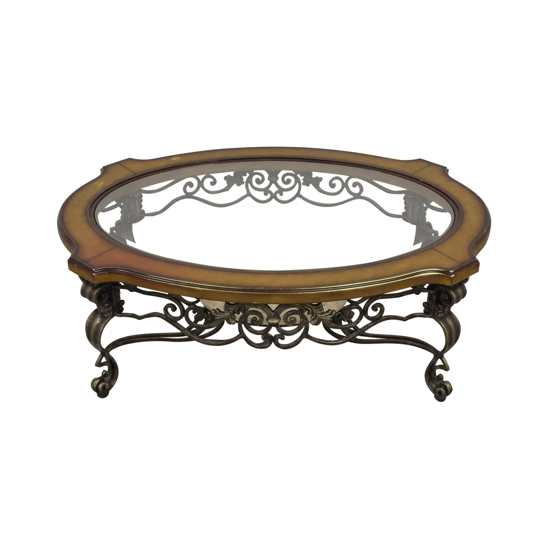Thomasville Thomasville Style Oval Coffee Table nyc