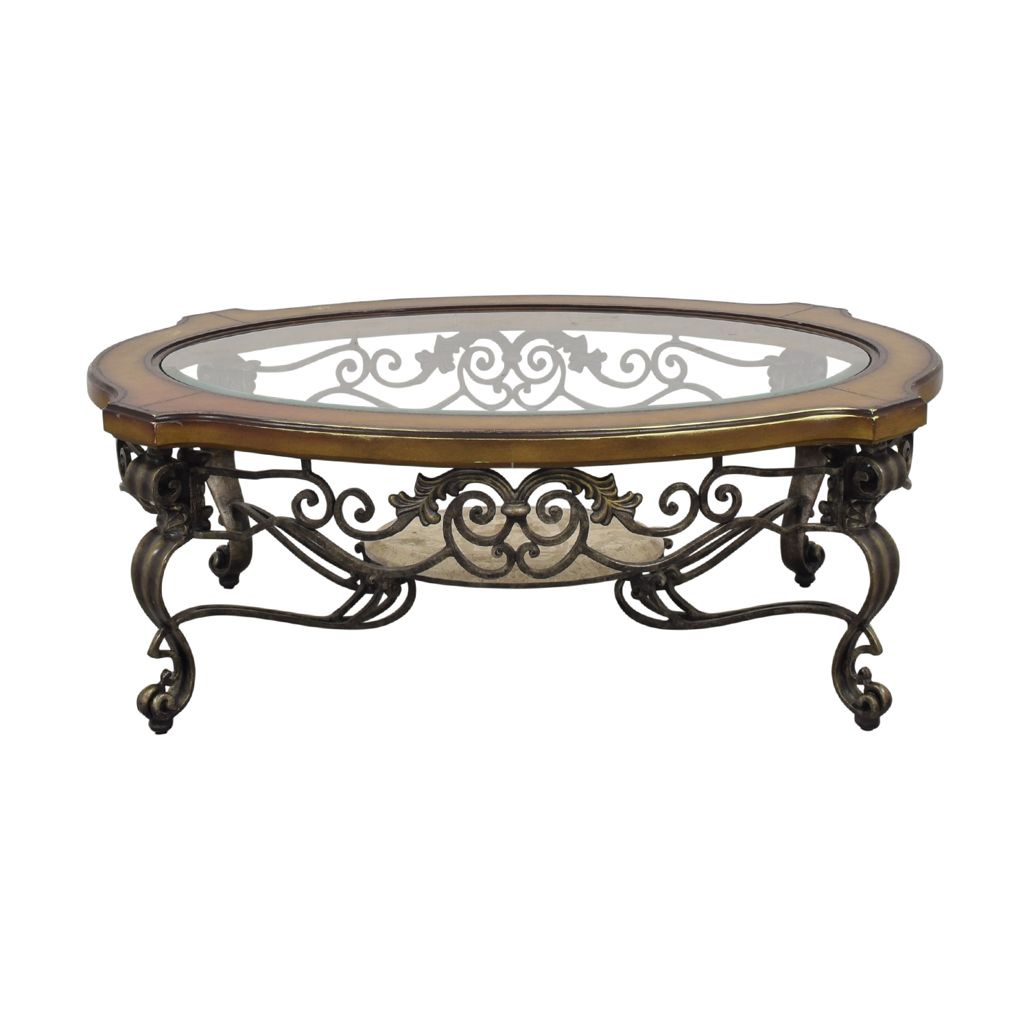 Thomasville Thomasville Style Oval Coffee Table used