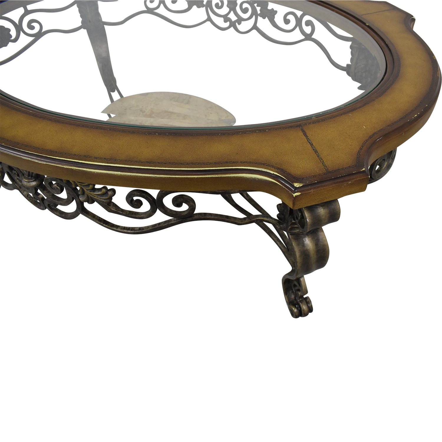 Thomasville Thomasville Style Oval Coffee Table second hand
