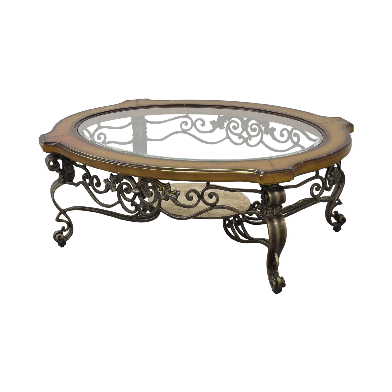 Thomasville Thomasville Style Oval Coffee Table used