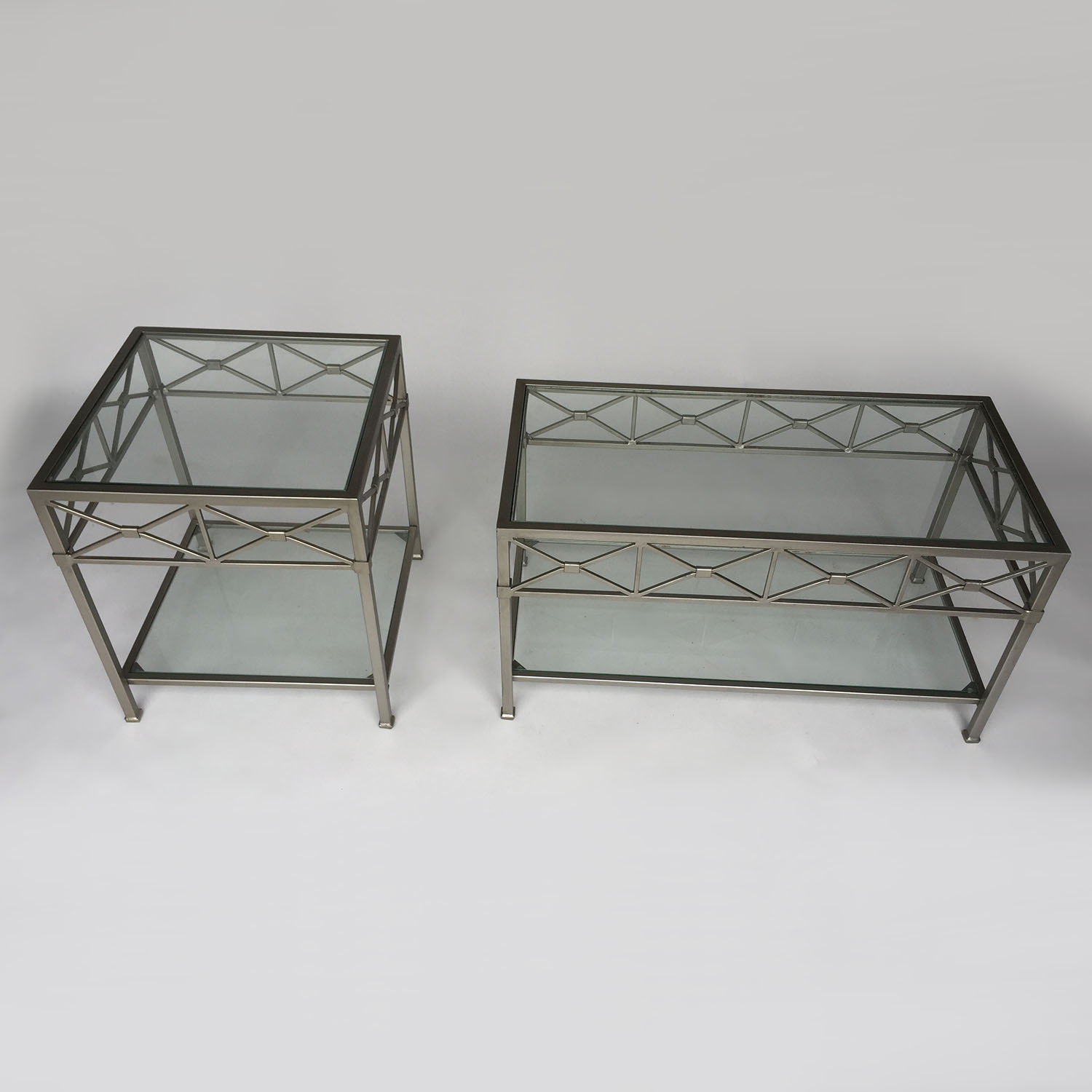 shop Cast Iron Coffee Table Set Unknown Brand Tables