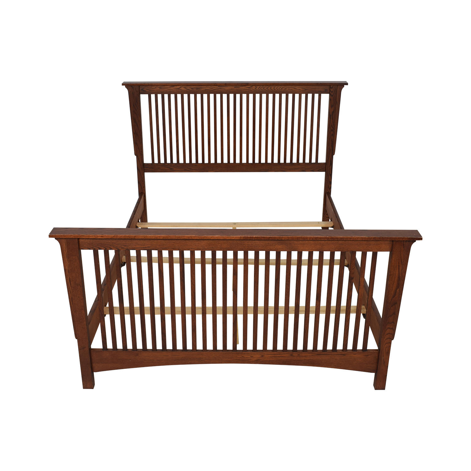 Thomasville Thomasville Queen Spindle Bed Frame brown