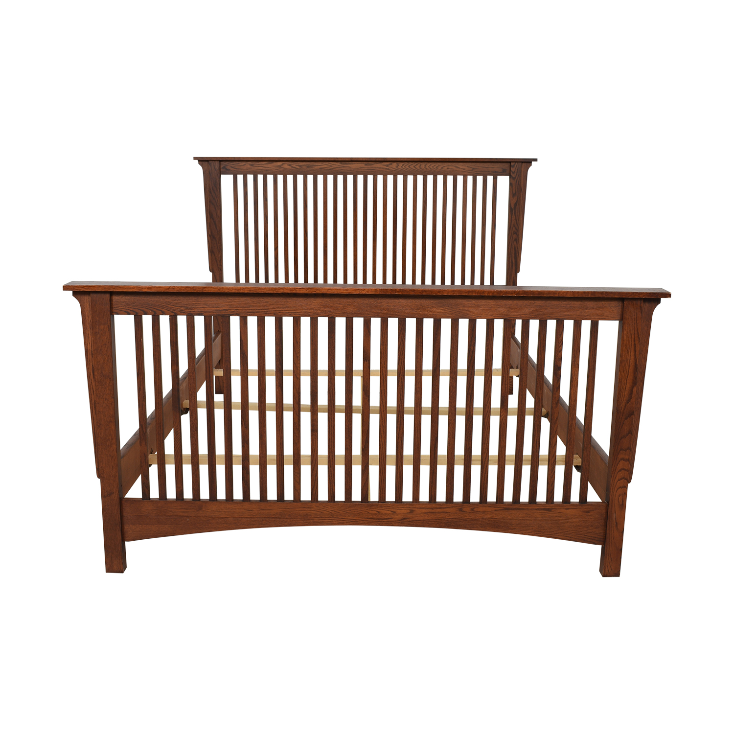 shop Thomasville Queen Spindle Bed Frame Thomasville Bed Frames