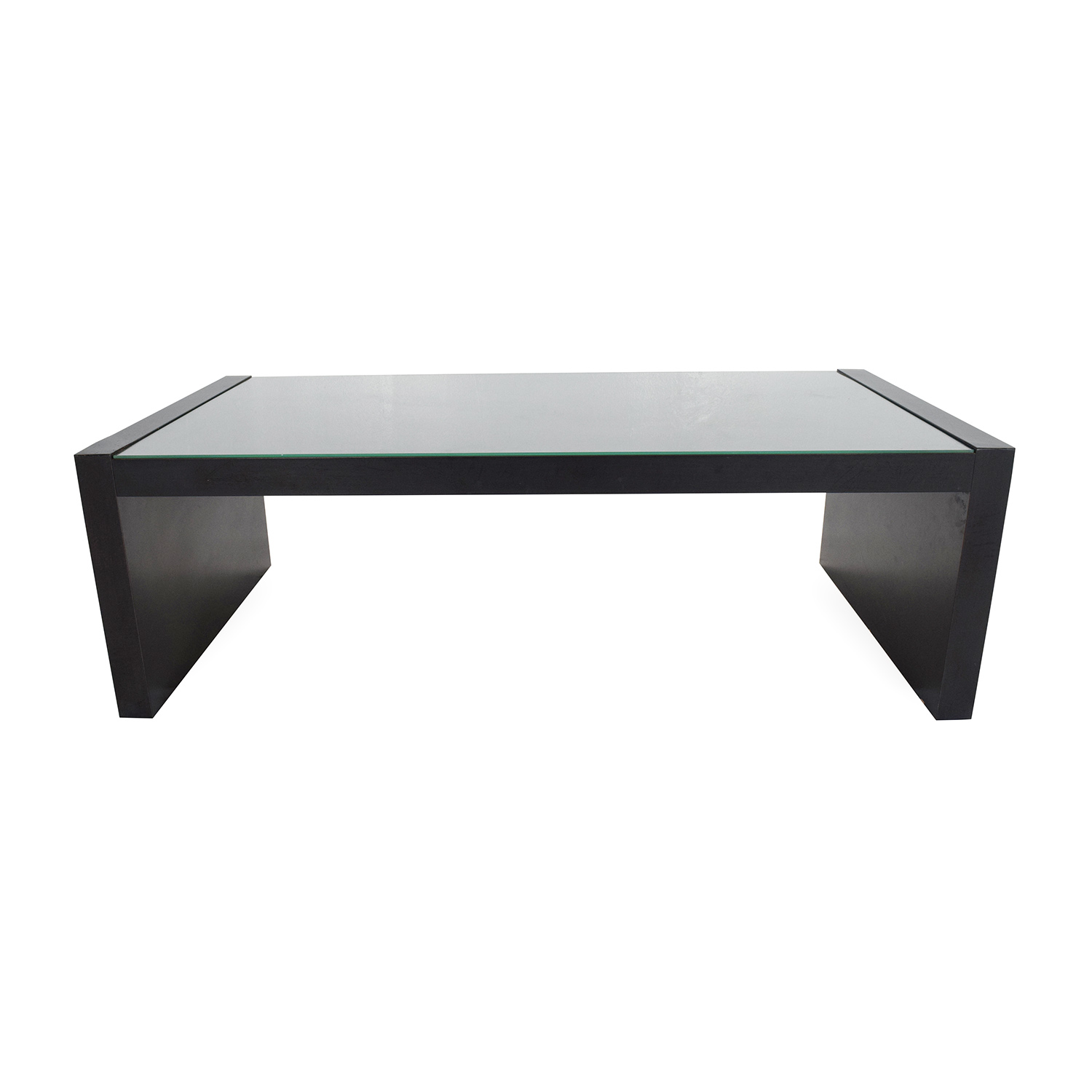 66 off ikea expedit coffee table tables for Ikea glass table tops