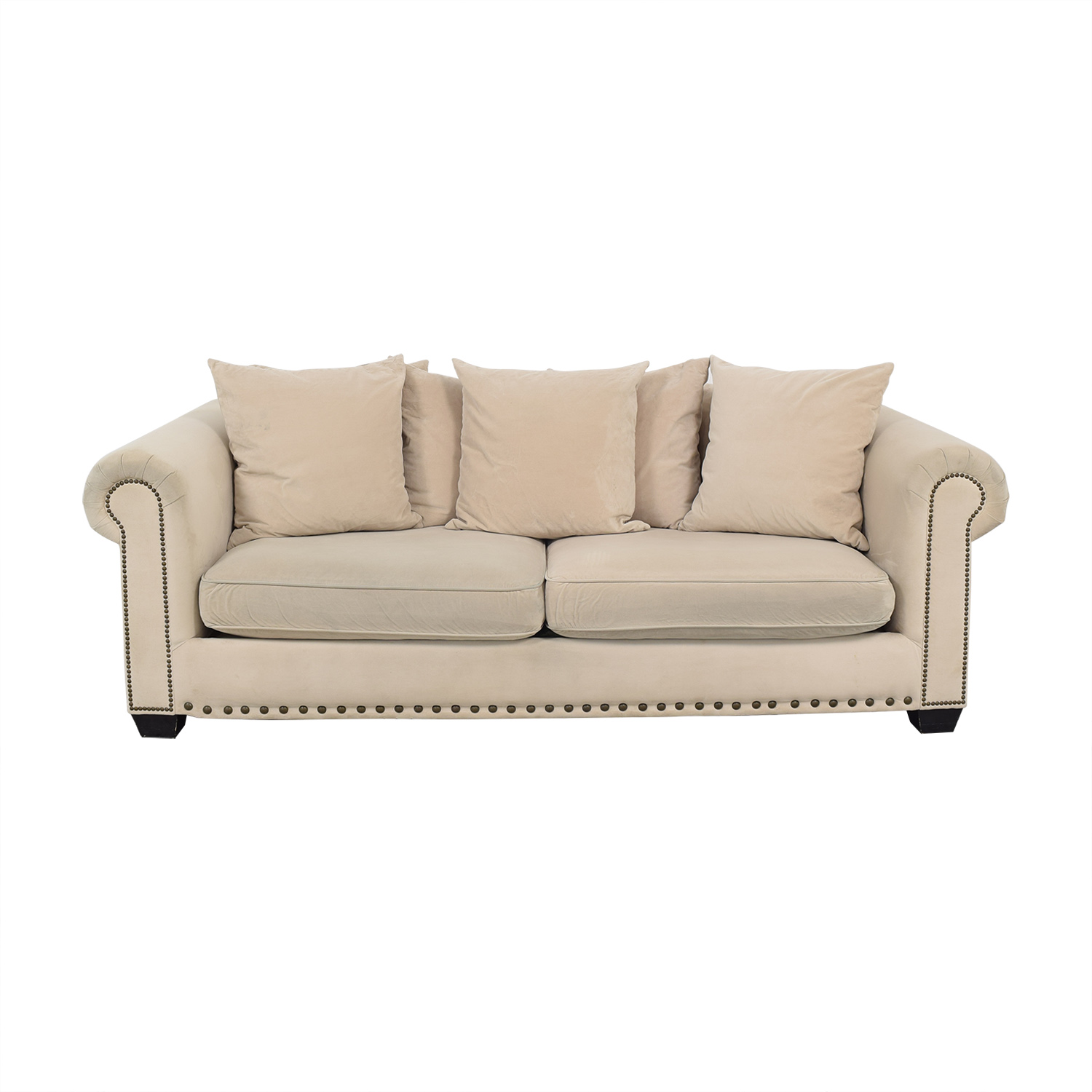 shop Z Gallerie Z Gallerie Round Arm Sofa online