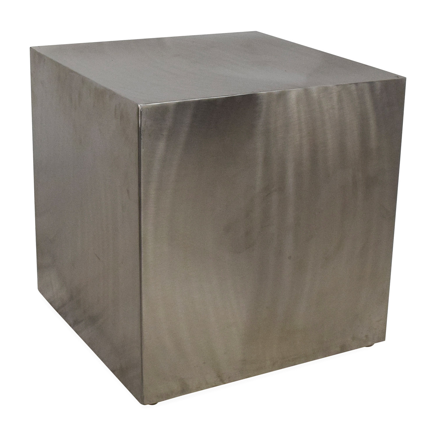 Zuo Modern Contemporary Stainless Steel End Table discount