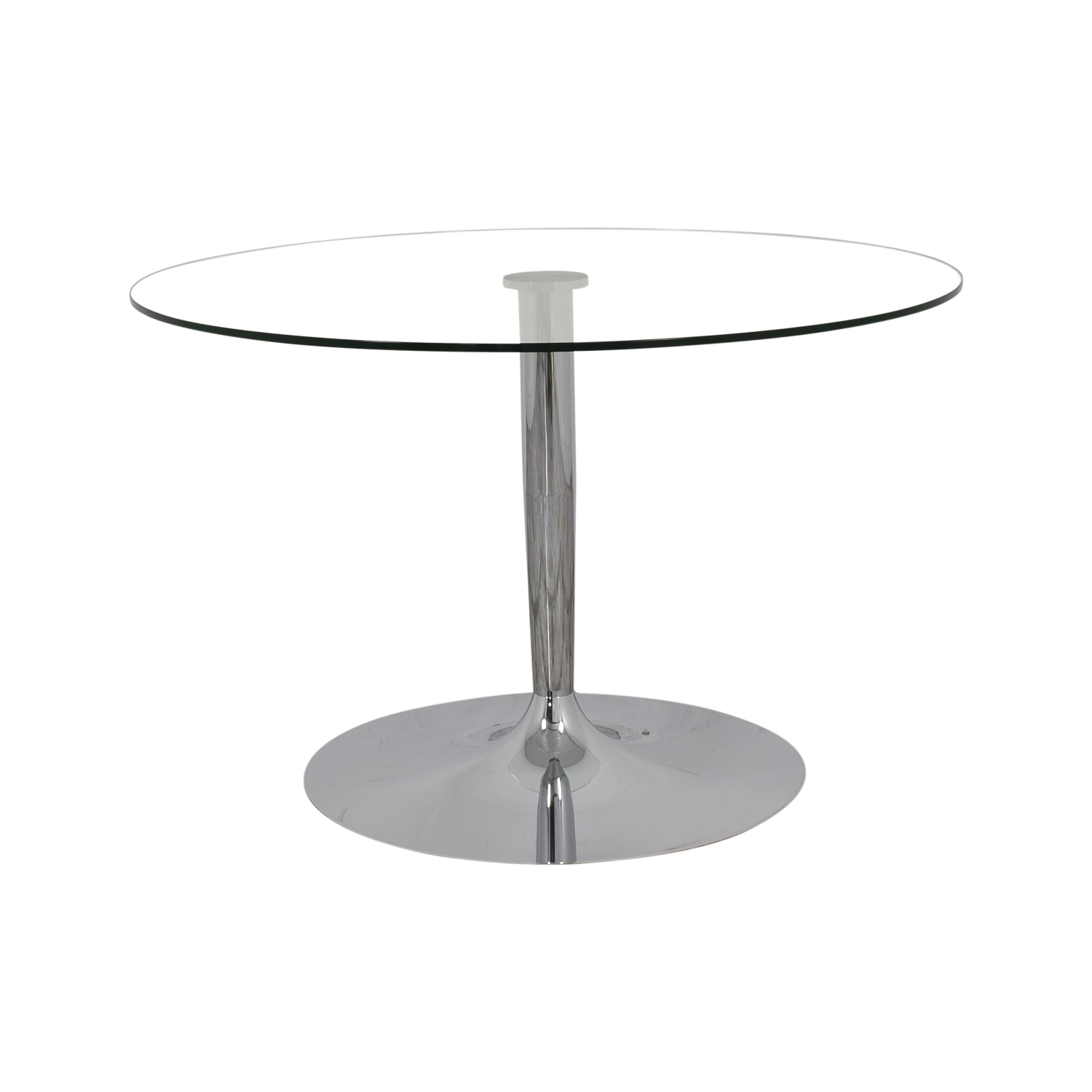 buy Calligaris Connubia Transparent Planet Glass Dining Table Calligaris