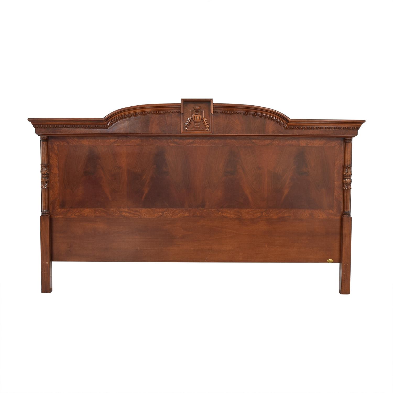 Fratelli Bianchini Fratelli Bianchini King Solid Wood Headboard