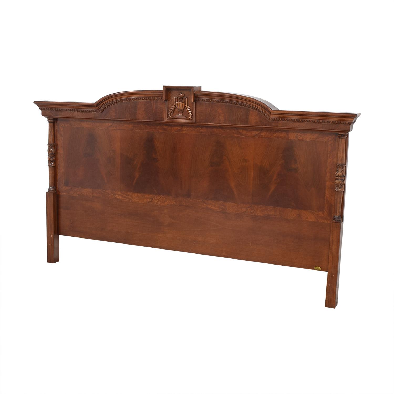 62 Off Fratelli Bianchini Fratelli Bianchini King Solid Wood Headboard Beds