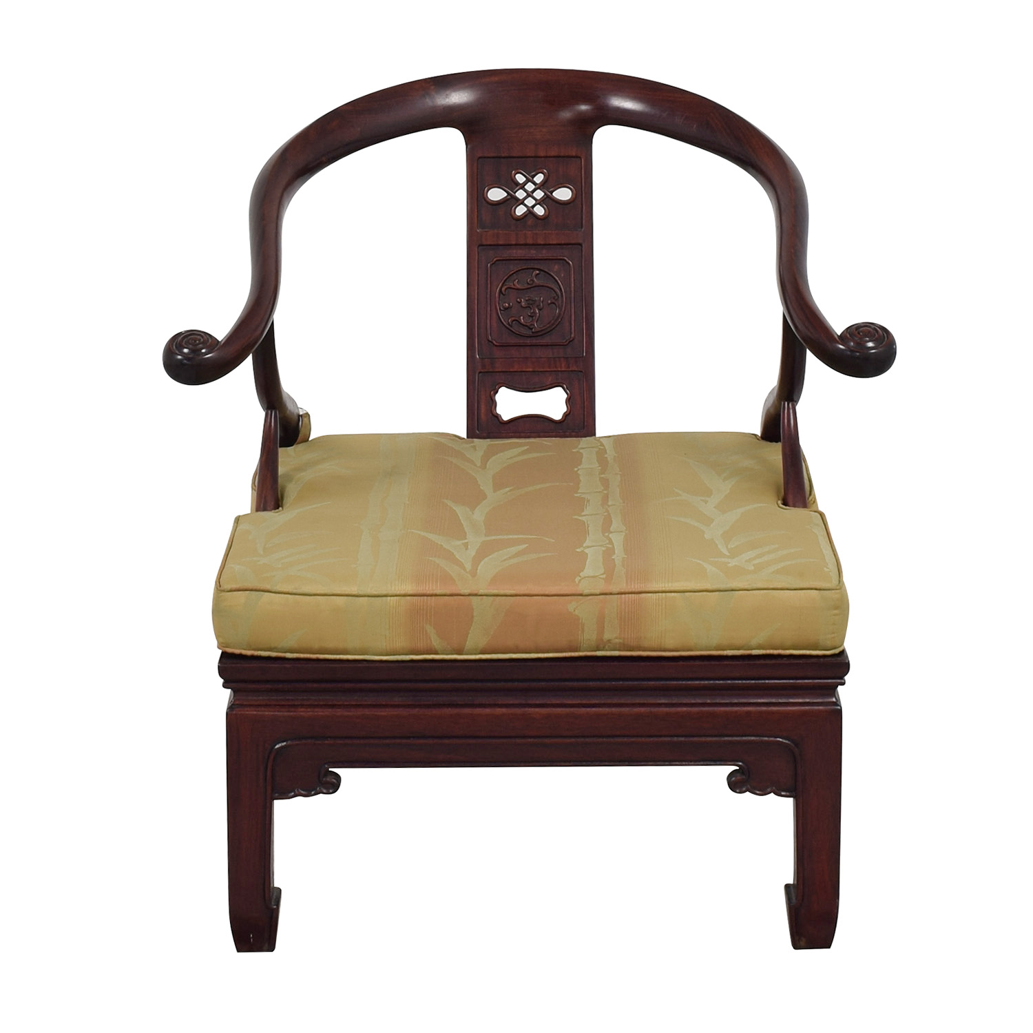Vintage Asian Accent Chair sale