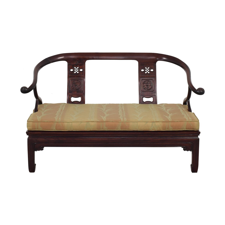 Asian Ming Style Sofa Bench nj