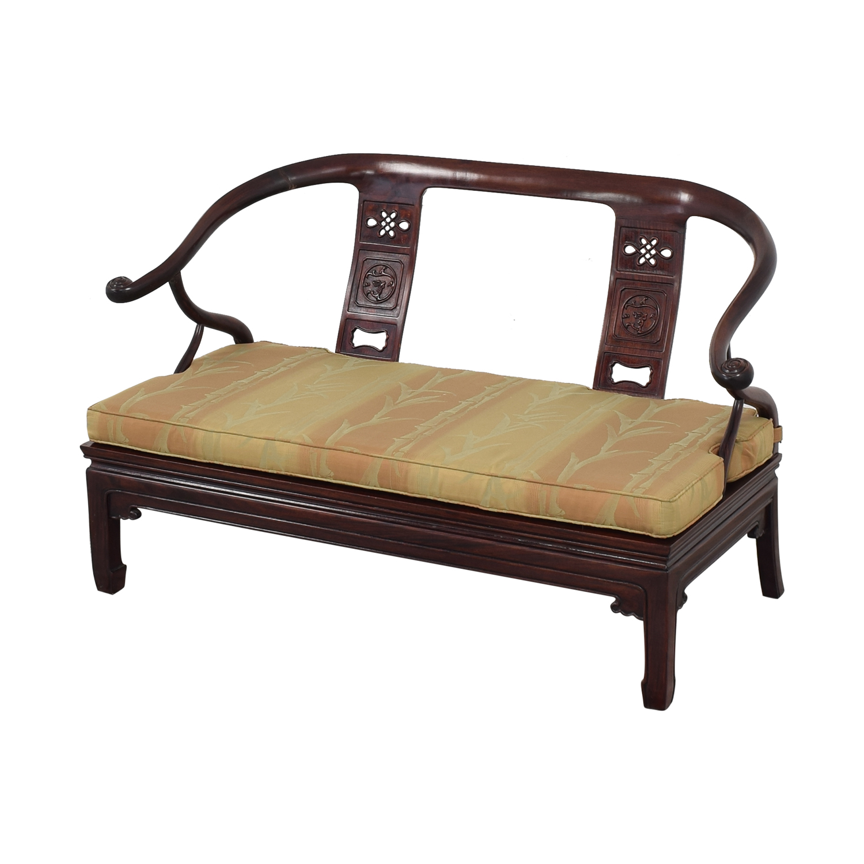 shop Asian Ming Style Sofa Bench