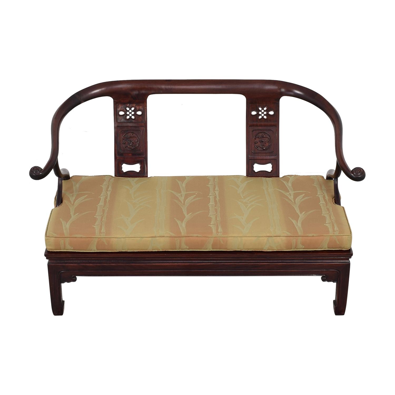 Asian Ming Style Sofa Bench / Loveseats