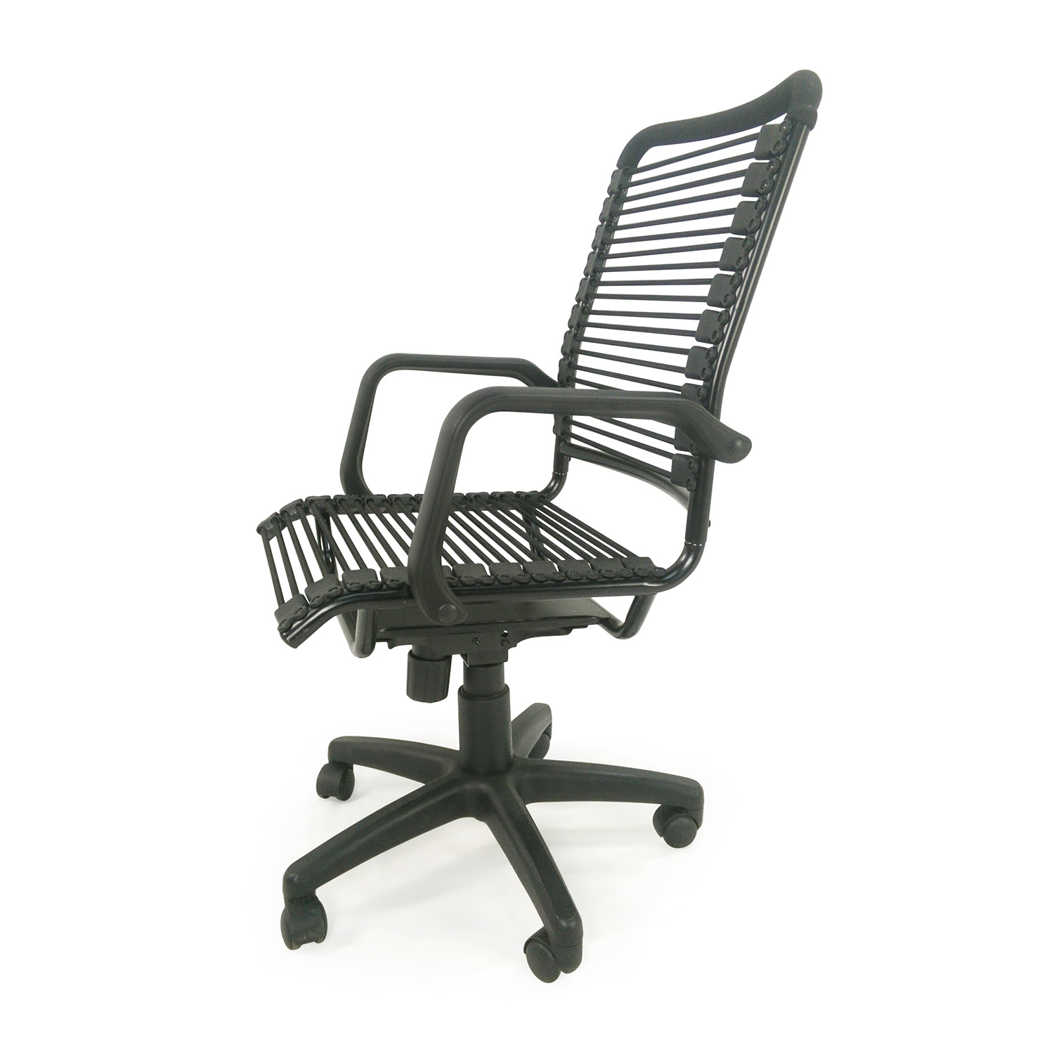 ... Euro Style Euro Style Bradley Bungie Office Chair Black ...