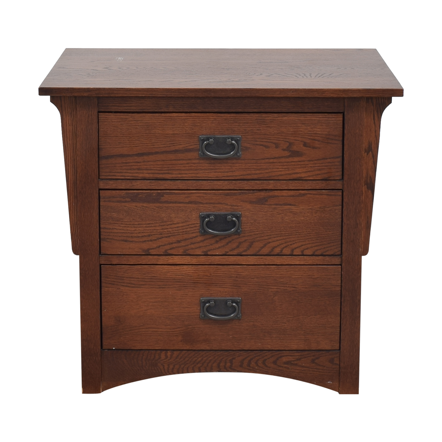 Shermag Shermag Mission Style Night Stand brown