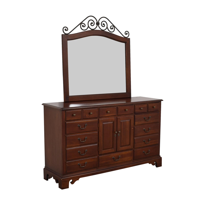 Hooker Furniture Hooker Furniture Dresser with Mirror for sale