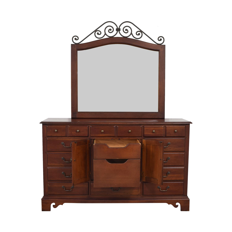 Hooker Furniture Dresser with Mirror / Storage