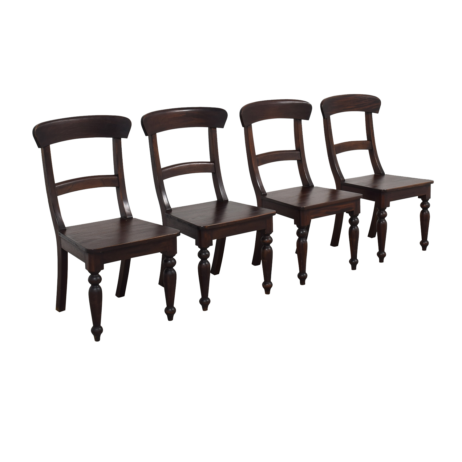 Crate & Barrel Crate & Barrel Farmhouse Dining Chairs nyc