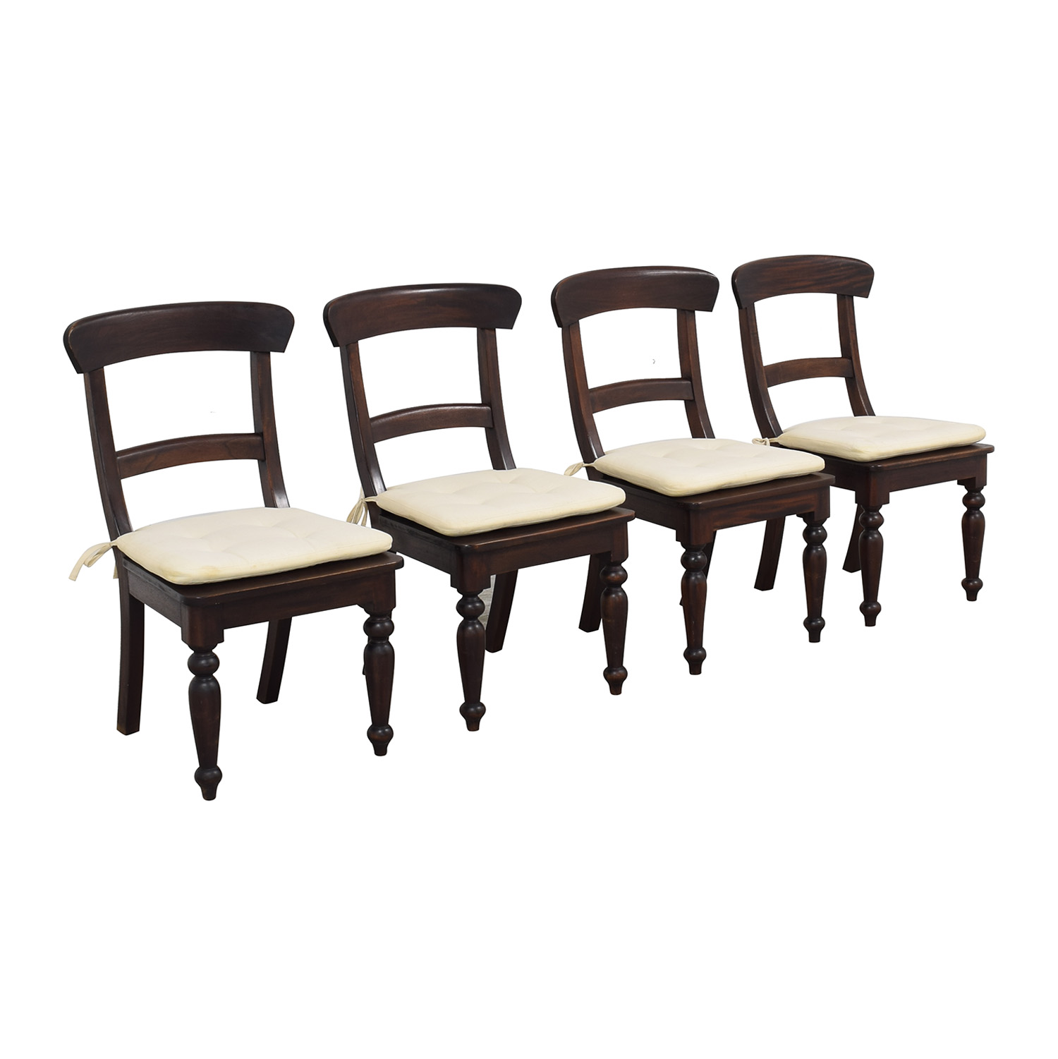 Crate & Barrel Farmhouse Dining Chairs Crate & Barrel