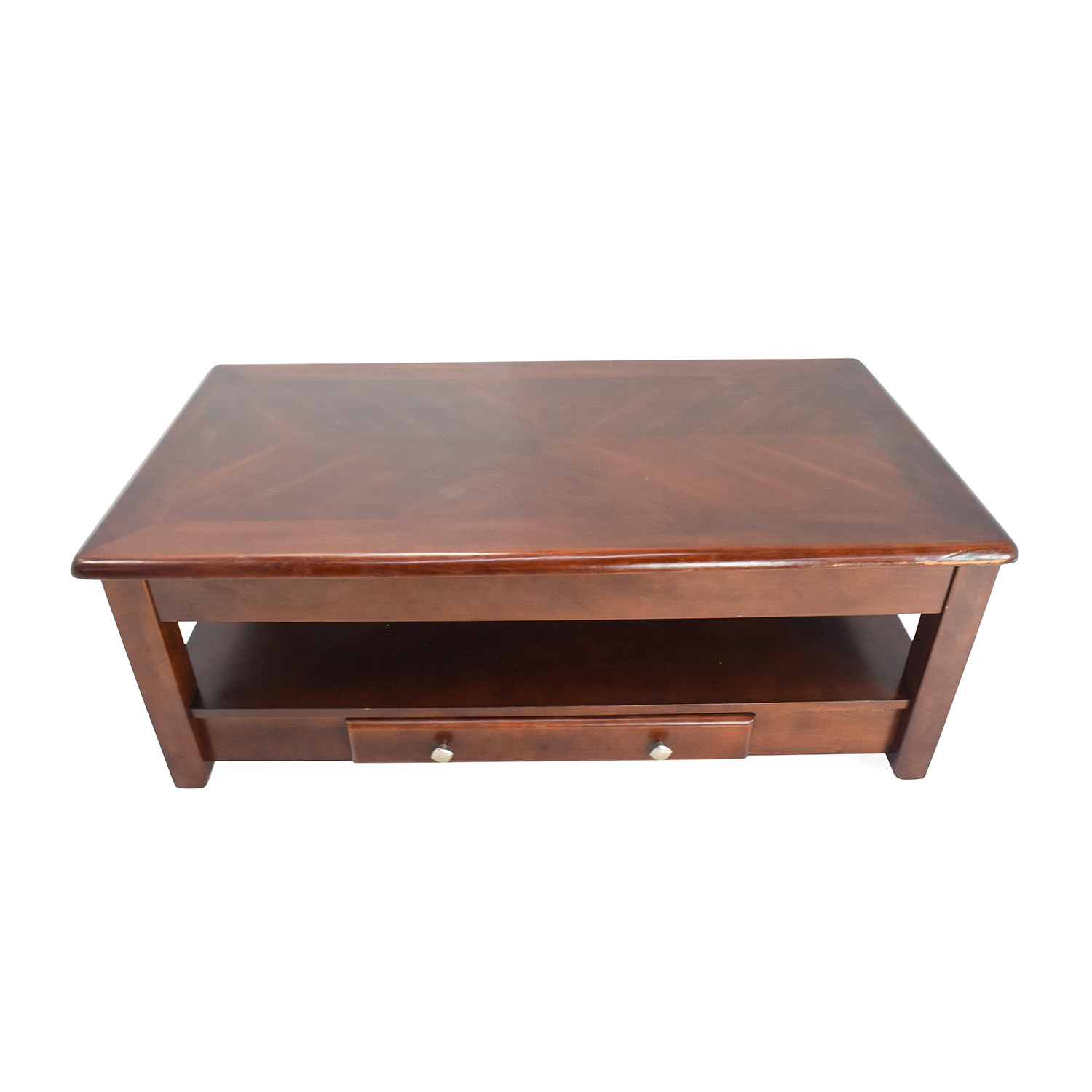 Raymour and Flanigan Raymour & Flanigan Lift-Top Coffe Table in Cherry second hand