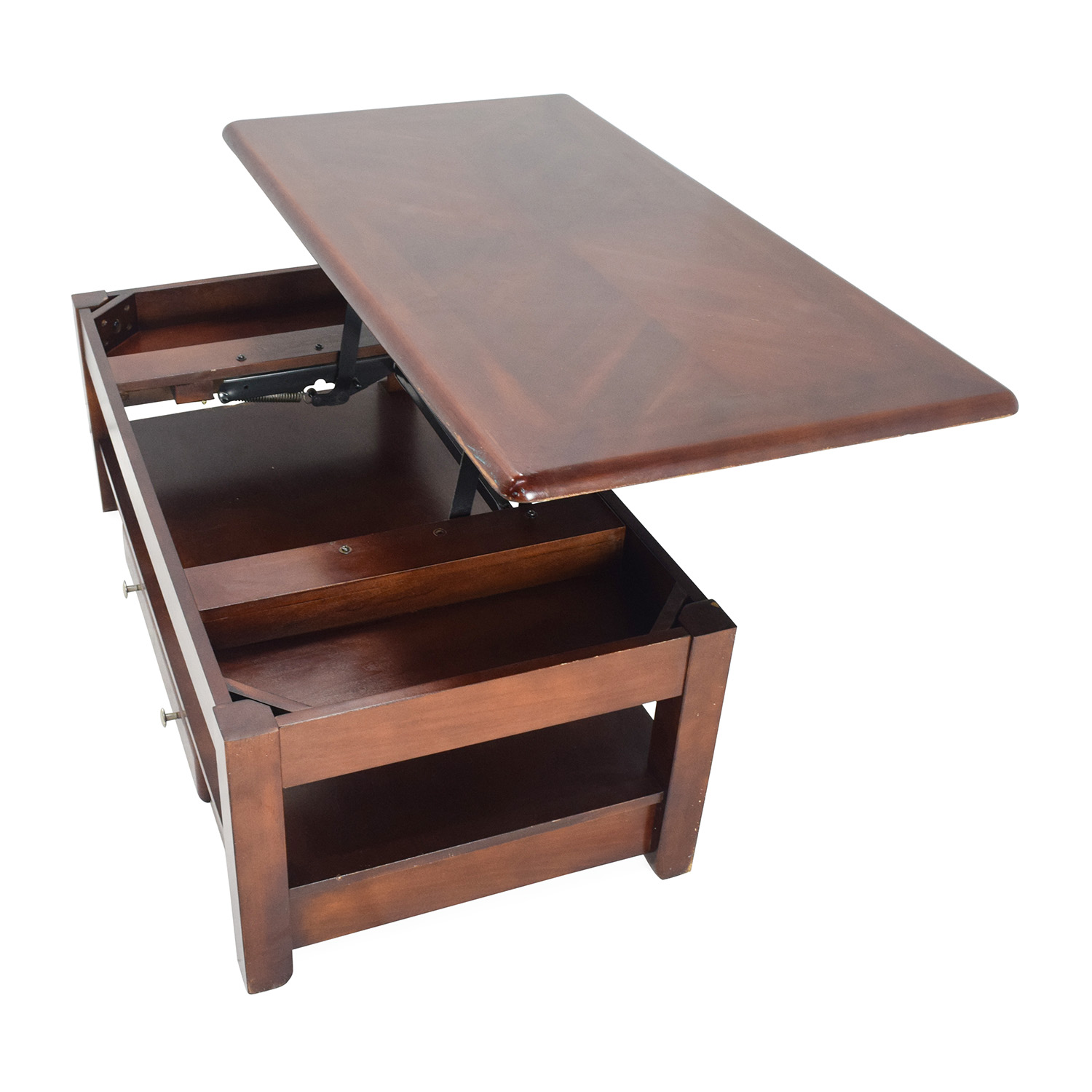 Swell 80 Off Raymour Flanigan Raymour Flanigan Lift Top Coffe Table In Cherry Tables Andrewgaddart Wooden Chair Designs For Living Room Andrewgaddartcom