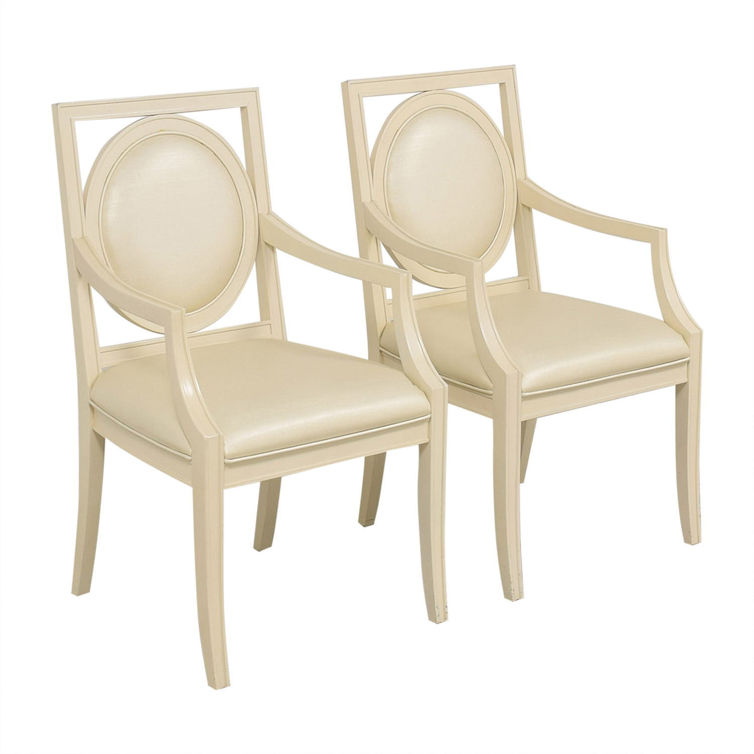 buy Bernhardt Salon Arm Chairs Bernhardt