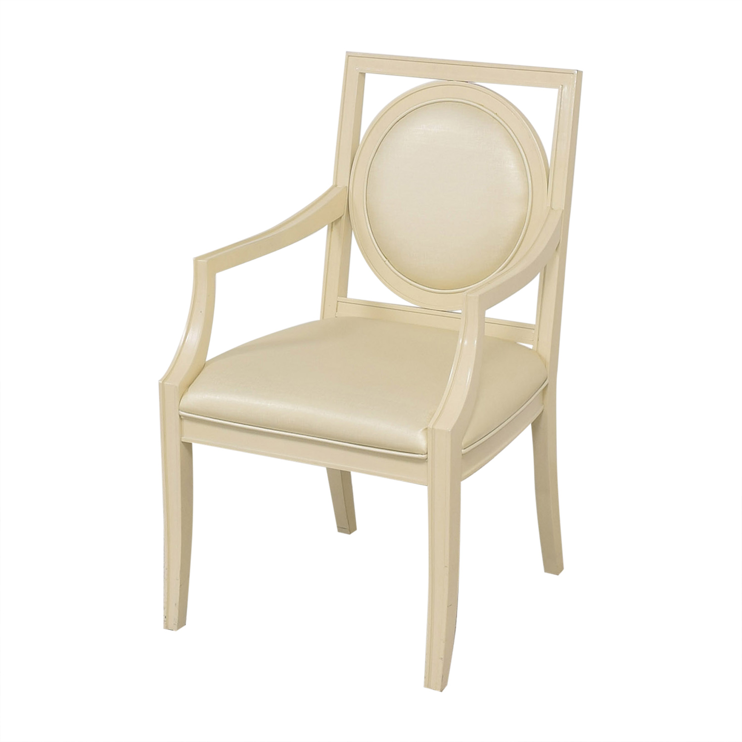 Bernhardt Bernhardt Salon Arm Chairs light gold