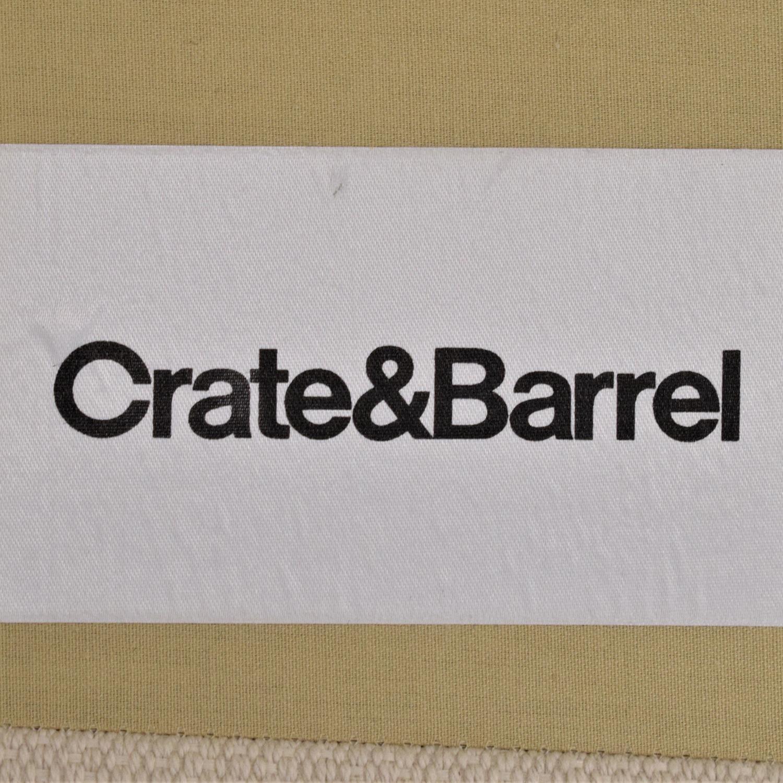 Crate & Barrel Crate & Barrel L Shaped Modular Sofa Sectionals