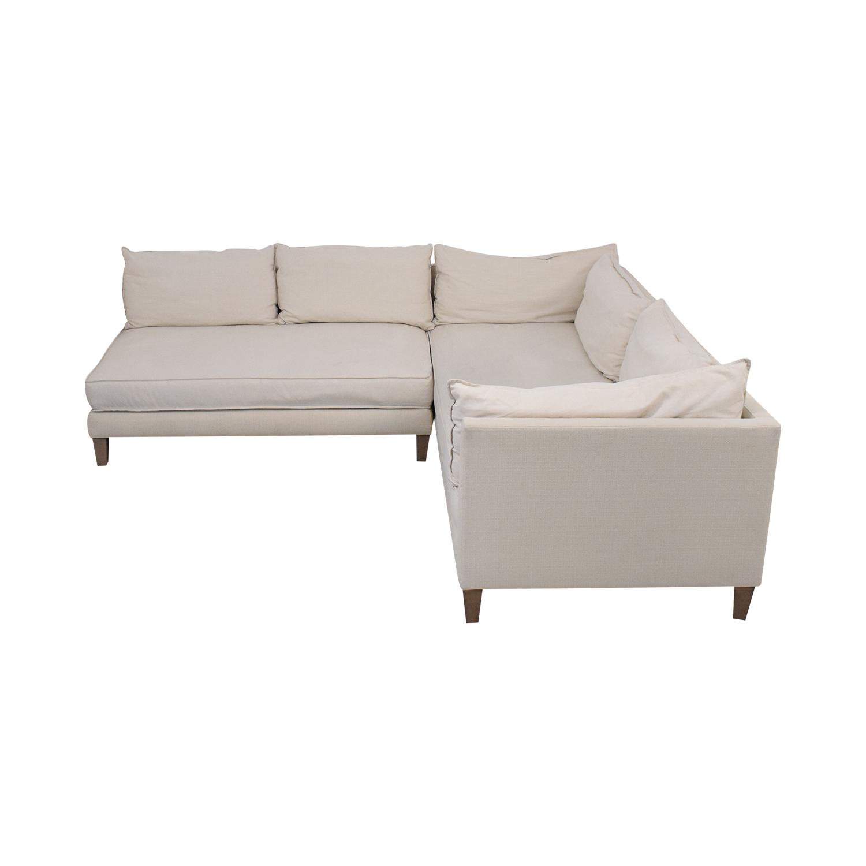 buy Crate & Barrel Crate & Barrel L Shaped Modular Sofa online