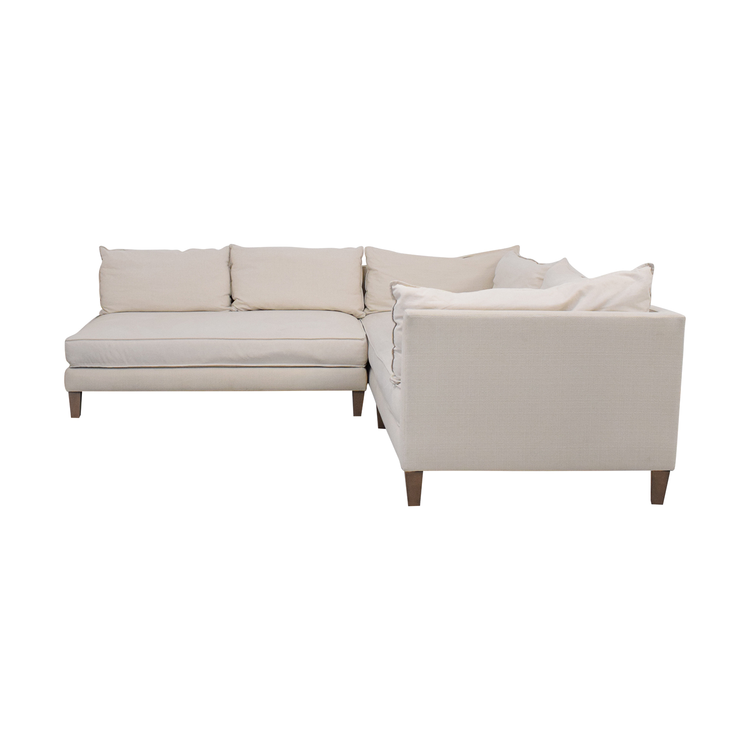 Crate & Barrel Crate & Barrel L Shaped Modular Sofa ct