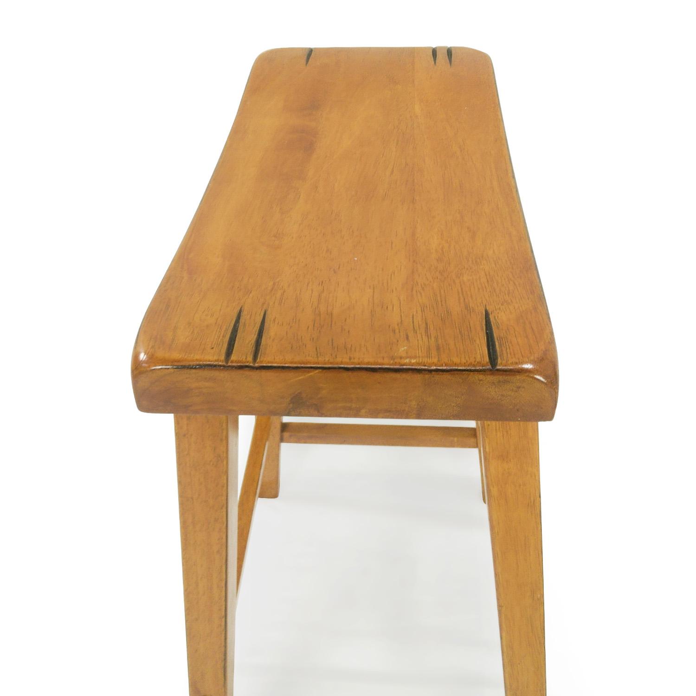 56 Off Coaster Furniture Coaster Saddle Seat Wood