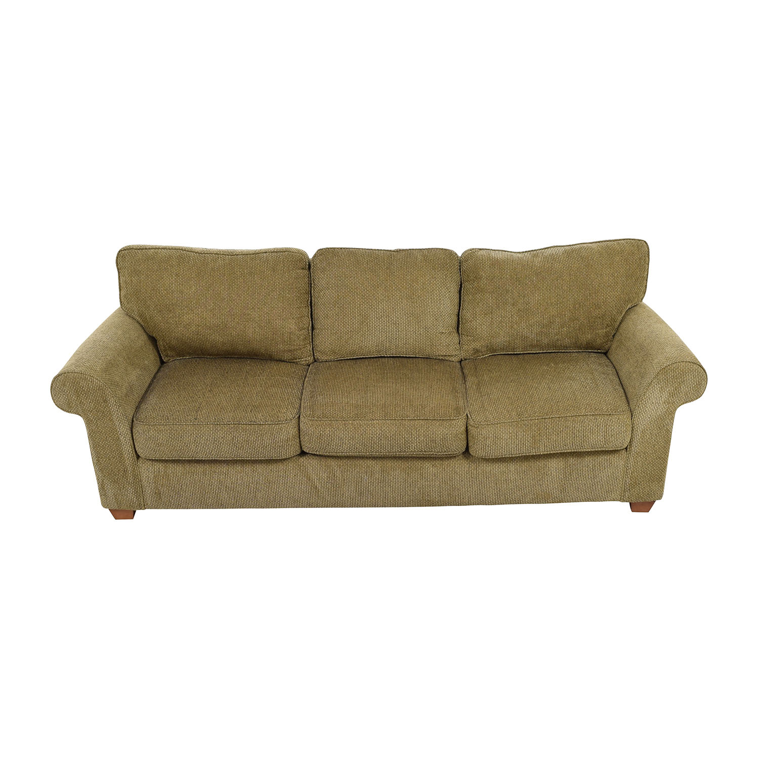 shop Bloomingdales Beige Tweed Fabric Sofa Bloomingdales Sofas