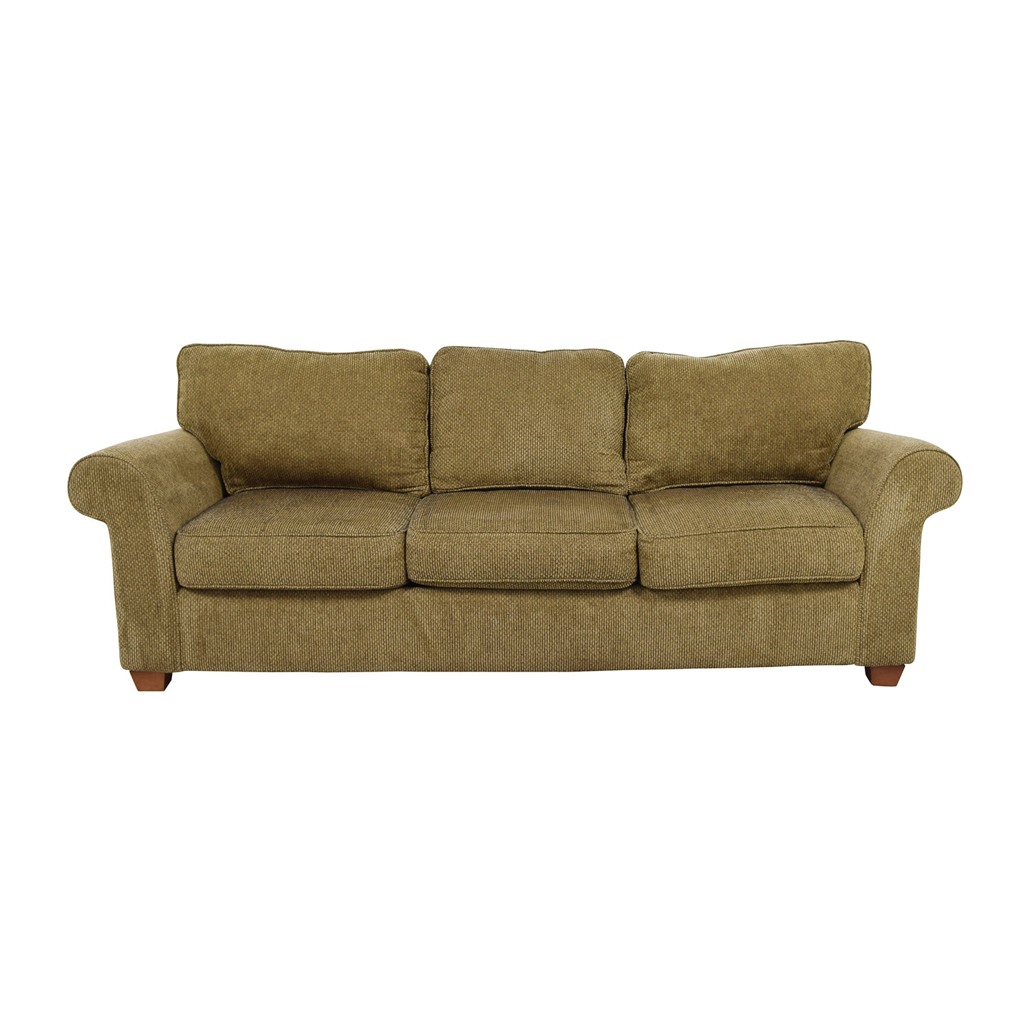 Bloomingdales Bloomingdales Beige Tweed Fabric Sofa price