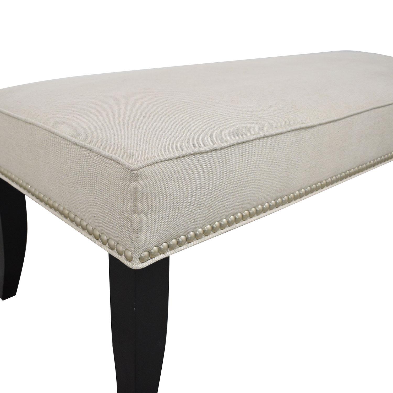 Crate & Barrel Crate & Barrel Upholstered Bench for sale