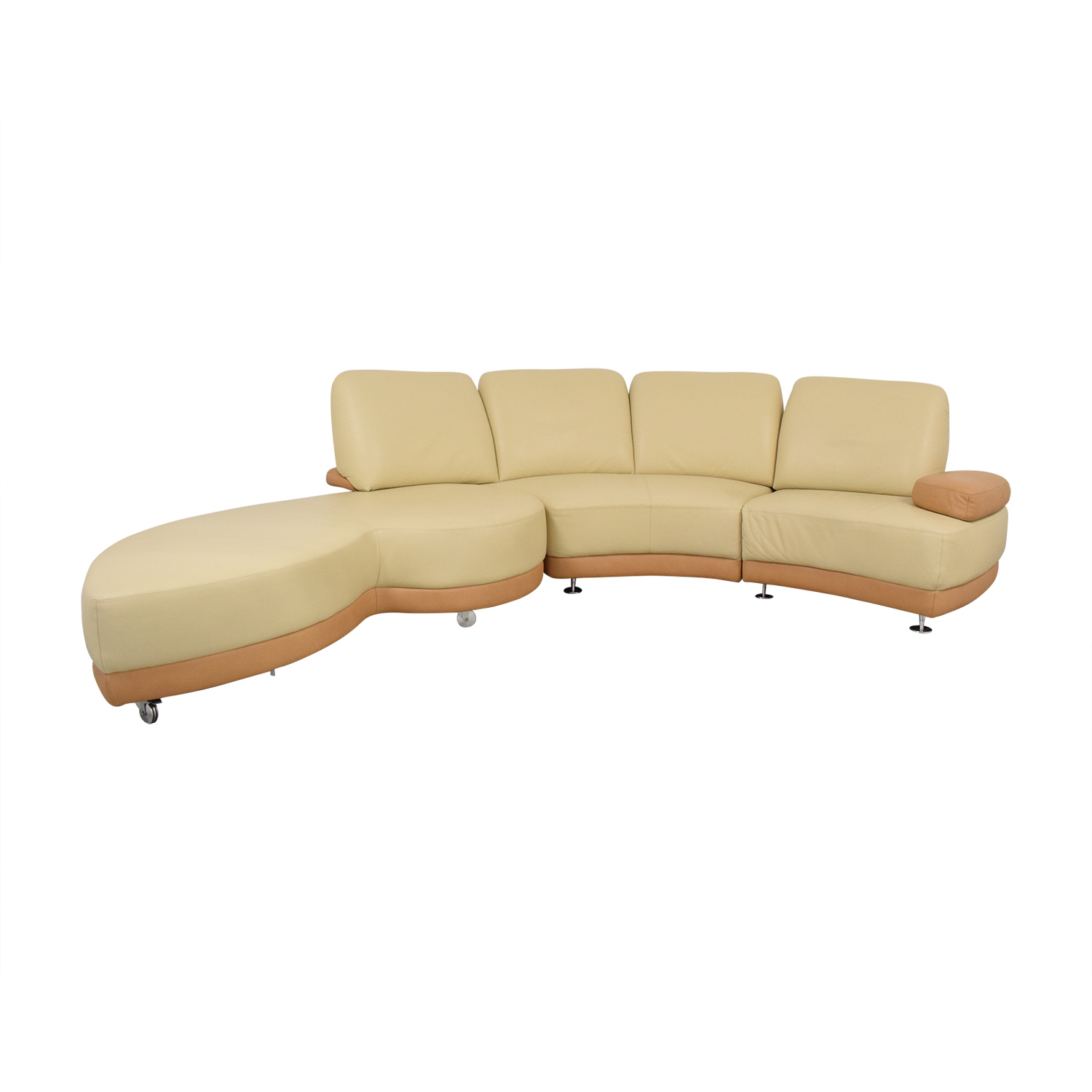 W. Schillig W. Schillig Crescent Shaped Sectional Sofa price