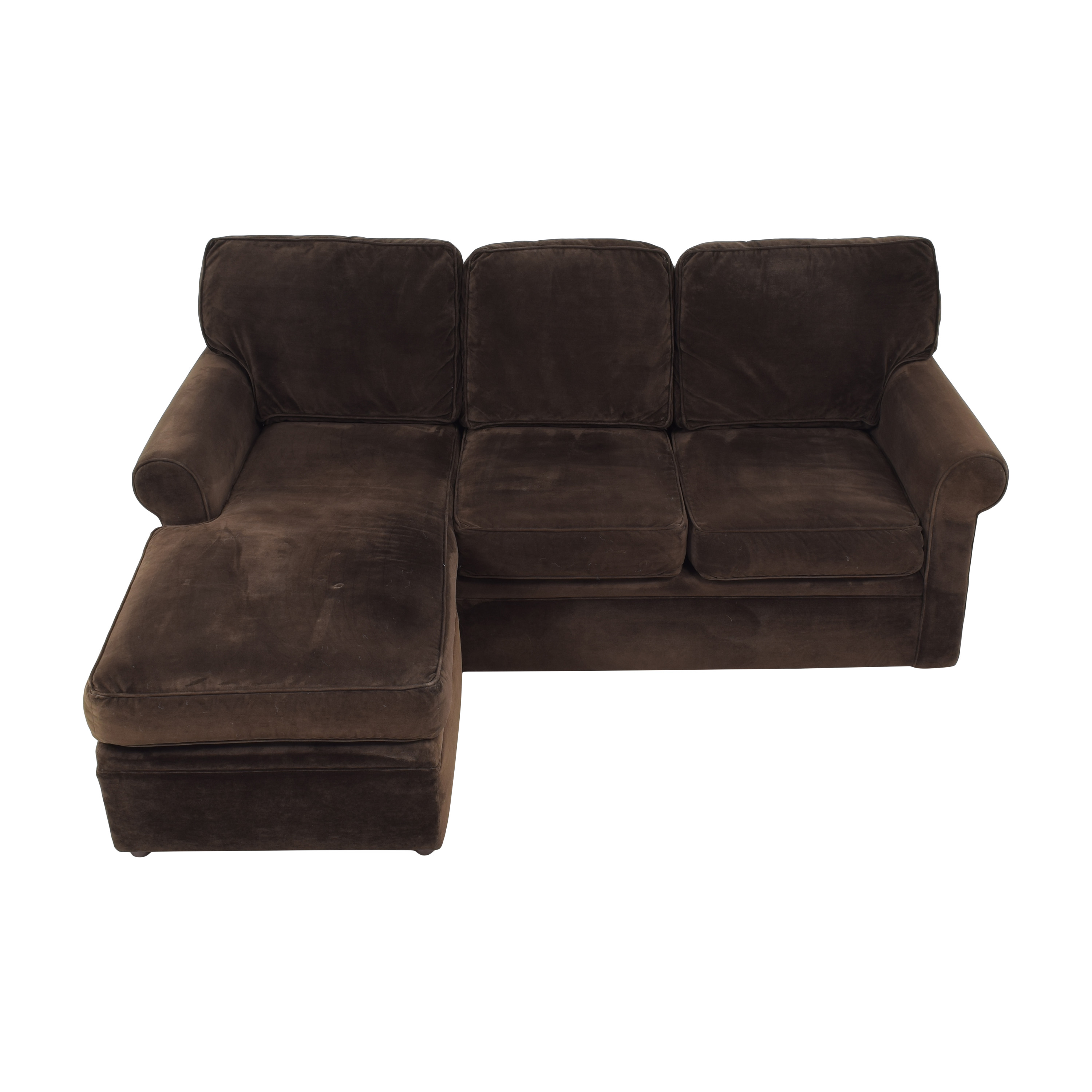 Rowe Furniture Rowe Furniture Dalton Sofa with Chaise Ottoman for sale